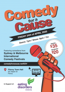 Comedy for a Cause EDV